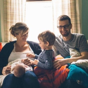 Matthias Beyer and family